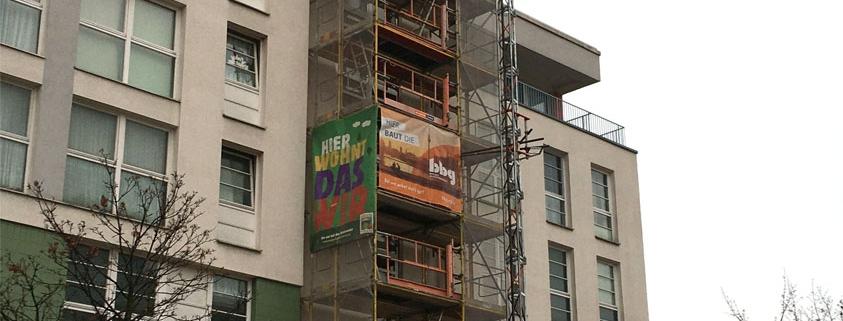 Erneuerung der Treppenhausfenster